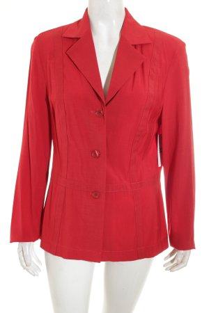 Bianca Blazer de tela de sudadera rojo estilo «business»