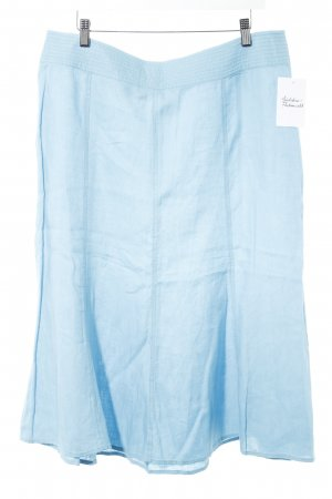 Bianca Circle Skirt baby blue casual look