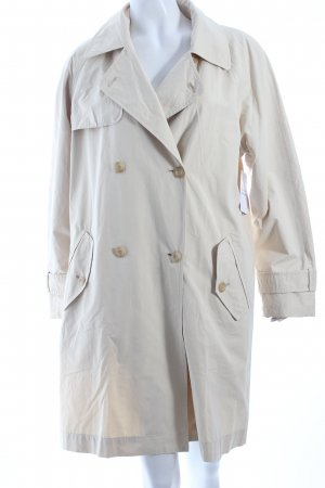 Bianca Trench Coat oatmeal casual look