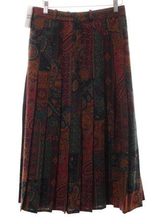 Bianca Wollrock abstraktes Muster Vintage-Look