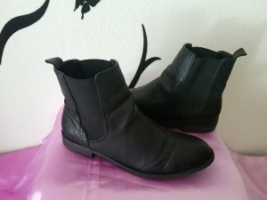 Bianco Chelsea Boots black leather
