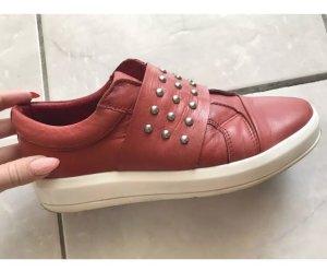 Bianco Sneakers brick red