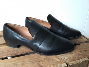 Bianco Slip-on Shoes black leather