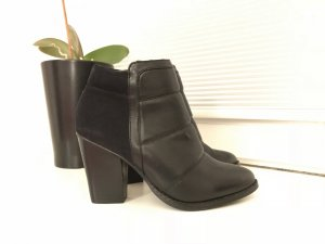 Bianco Stiefeletten Ankle Boots Schwarz