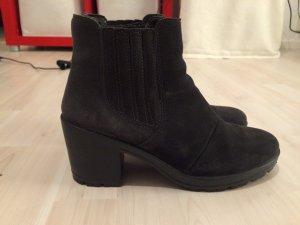 Bianco Wildleder Boots