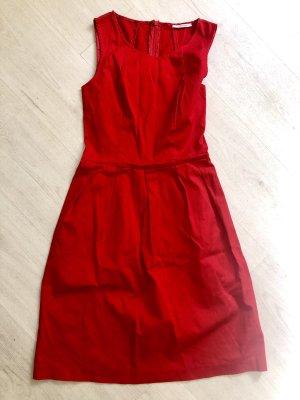 Biancoghiaccio Midi Dress red