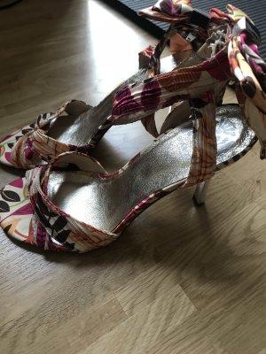 Bianco Strapped Sandals multicolored