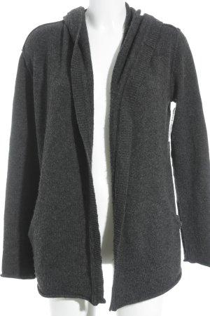 Biaumax Cardigan dunkelgrau Kuschel-Optik