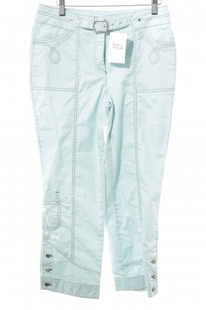 Biba 3/4 Length Trousers turquoise casual look