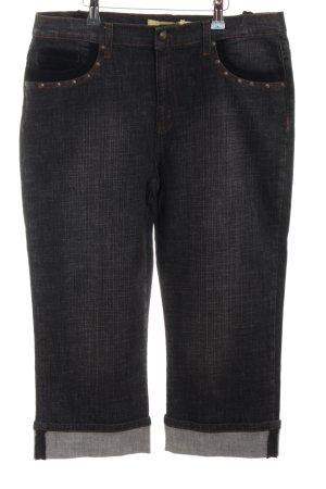 Biba 3/4 Length Jeans black casual look
