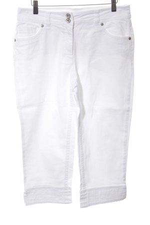 Biba 3/4 Length Jeans white casual look