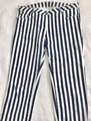 BiBa 3/4 lange Hose blau weiß gestreift Marinestil