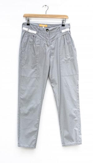 Biba 7/8 Length Trousers silver-colored-white