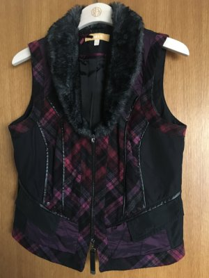 Biba Fake Fur Vest multicolored