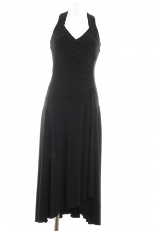 Biba Vestido de noche negro elegante
