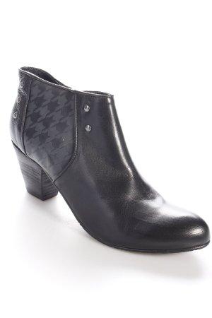 Biba Ankle Boots schwarz Nieten-Detail