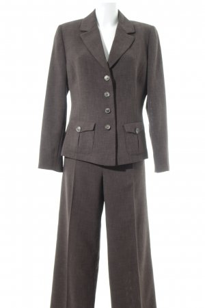 Biba Suit Trouser grey brown business style