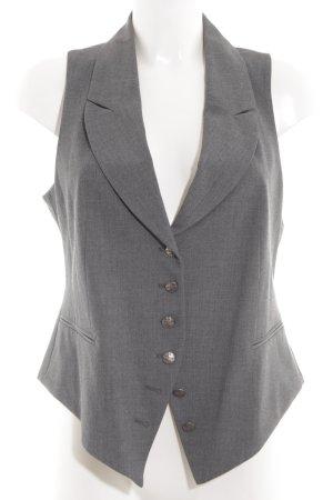 Biba Waistcoat light grey flecked business style