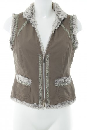 Biba Biker Vest multicolored casual look