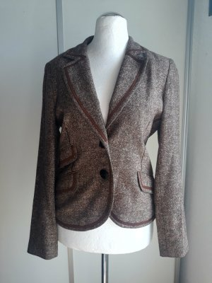 Biba Blazer grey brown-light brown