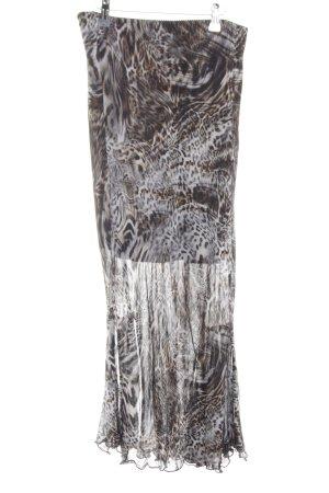 Biba Pencil Skirt animal pattern elegant