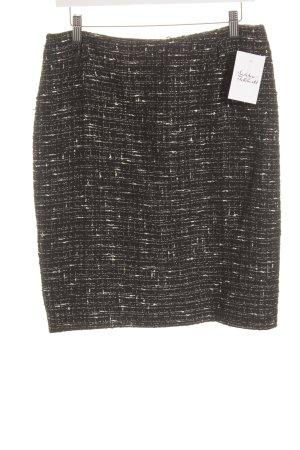 Biba Pencil Skirt black-white flecked