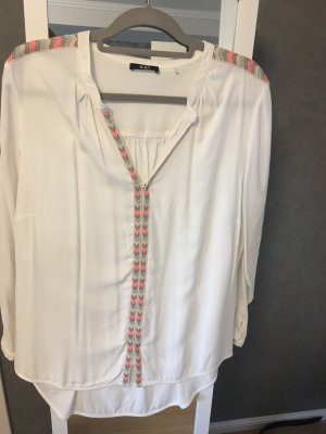 Biba Long Sleeve Blouse white