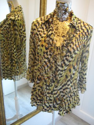 Biba Crash Blouse multicolored