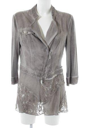 Biba Blouse Jacket light grey street-fashion look