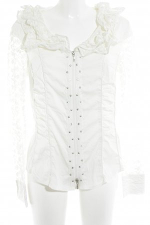 Biba Blouse Jacket white romantic style