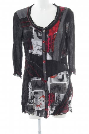 Biba Blouse Dress abstract pattern casual look