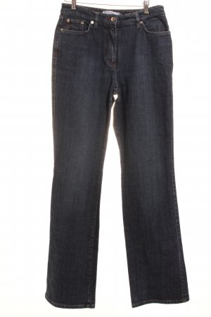 Biba Boot Cut Jeans dunkelblau Casual-Look