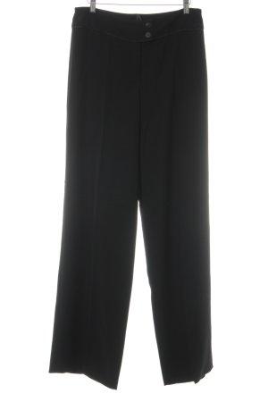 Biba Pantalón de pinza negro elegante