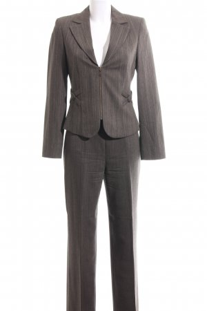 Biba Business Suit brown flecked business style
