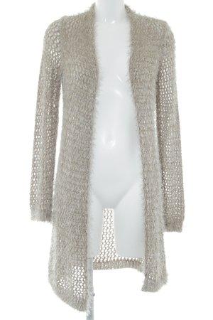 Biba Cardigan beige-silver-colored flecked casual look