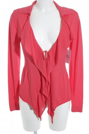 Biba Cardigan bright red casual look