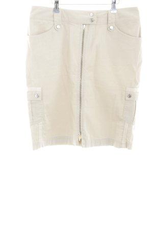 Biba Cargo Skirt natural white elegant