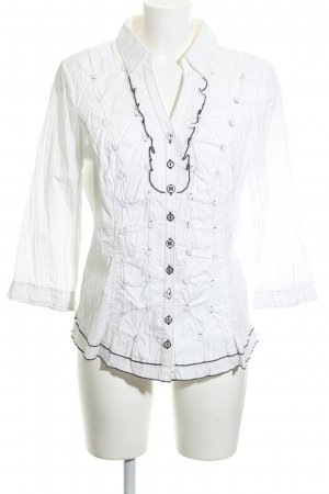 Biba Crash Blouse white-black business style
