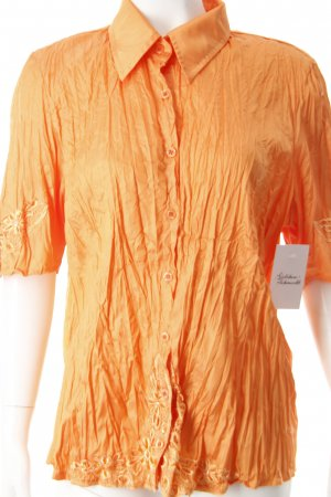 Biba Crash-Bluse orange extravaganter Stil