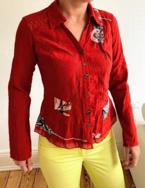 Biba Camicetta a maniche lunghe multicolore