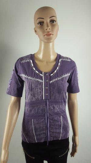 Biba Shirt Tunic dark violet