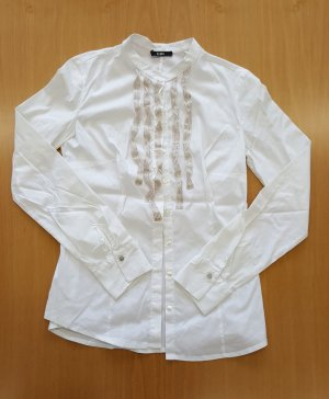 Biba Long Sleeve Blouse natural white-white