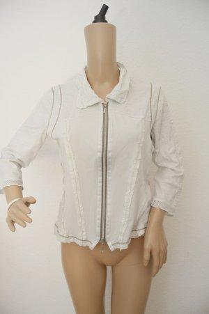 Biba Giacca-camicia bianco