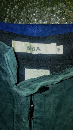 Biba Leather Trousers multicolored suede