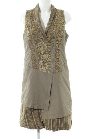 Biba Sheath Dress brown-primrose flower pattern elegant