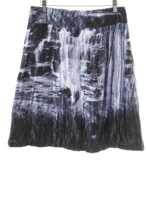 Biba Falda a cuadros estampado batik look casual