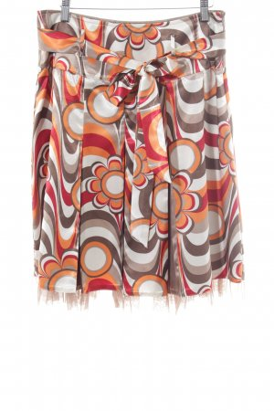 Biba Plaid Skirt multicolored extravagant style