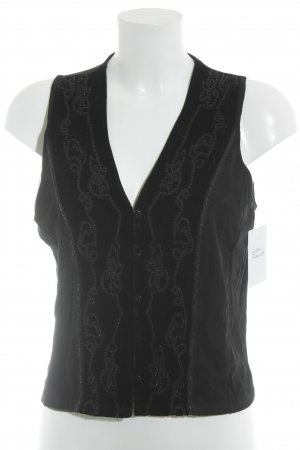 Biba Fleece Vest black elegant