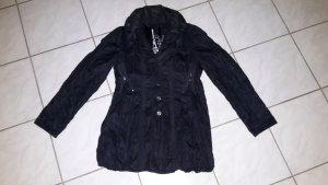 Biba Between-Seasons Jacket dark blue polyester