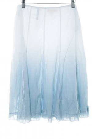 Biba Flared Skirt white-azure